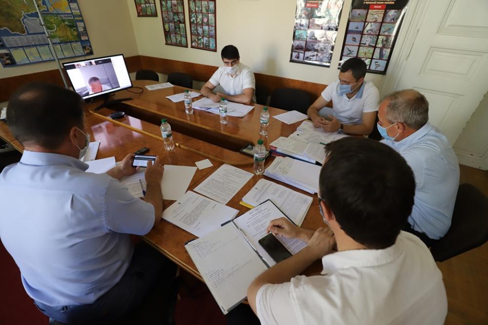 Комісія з питань екології розглянула звіти про виконання обласних профільних програм