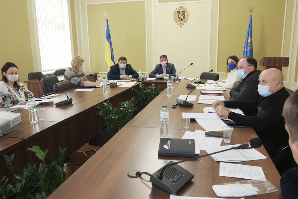 В обласній раді напрацювали проєкт Комплексної програми регіонального розвитку Львівщини