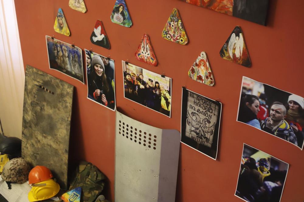У Львові відкрилася виставка «Революція Гідності: спалахи пам'яті»