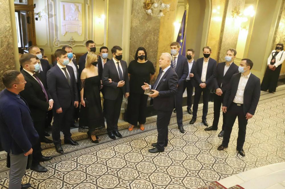 Колектив Львівської опери відзначили Грамотою Верховної Ради за заслуги перед українським народом